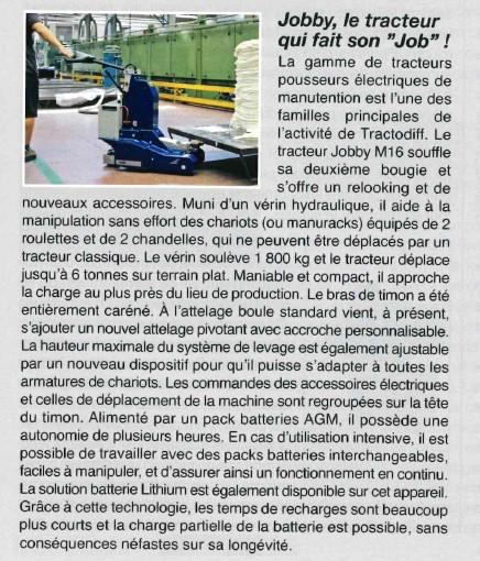 Tracteur electrique M16